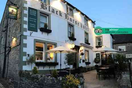 The Black Horse Hotel - Two night Yorkshire Dales stay with late check out and breakfast - Save 48%