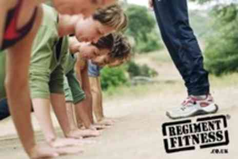 Regiment Fitness - Ten Morning Boot Camp Sessions - Save 88%