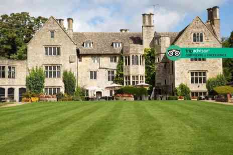Stonehouse Court Hotel - One or two night stay for 2 including breakfast, dinner and late checkout - Save 0%