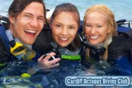 Cardiff Octopus Diving Club - Diving Taster Session Plus Three Months Membership - Save 74%