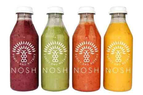Nosh Detox - Up to £100 to Spend on Juice Programmes, Diet Plans and More With Delivery Included - Save 37%