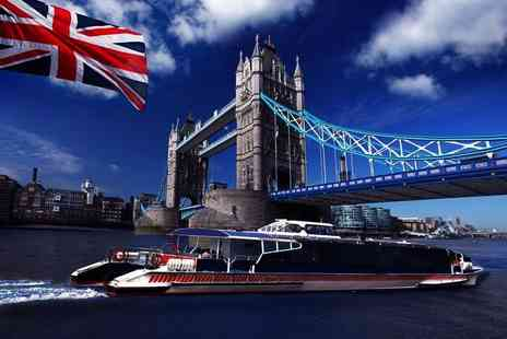 SuperBreak - Overnight London stay with breakfast and 24 hour hop on or hop off Thames cruise - Save 0%