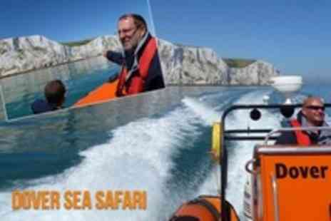 Dover Sea Safari - Three Hour RIB Tour For Two - Save 57%