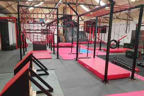 HC Fit - Ten ninja training obstacle course sessions - Save 76%