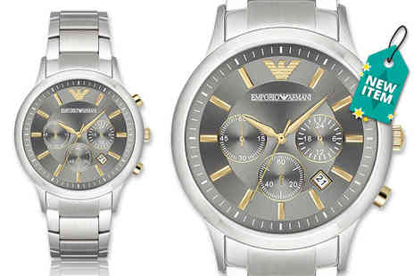 D2time - Mens Emporio Armani AR11047 watch plus Free Delivery - Save 50%