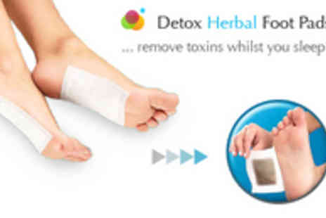 Buyitnowgifts - Detox Herbal Foot Pads Remove Toxins Whilst You Sleep - Save 65%
