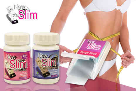 Now Slim - Three day and night capsule bundle and 24 Hunger Strips - Save 69%