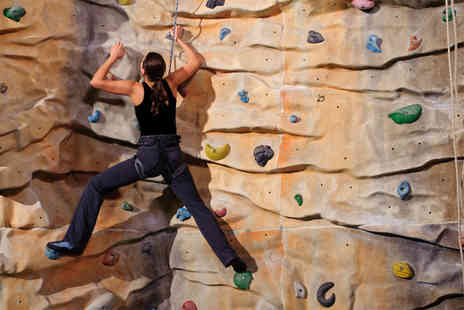 Extreme Ventures - Indoor rock climbing session for two - Save 76%