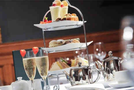 Durker Roods Hotel - Afternoon tea for two with Prosecco afternoon tea for two - Save 40%
