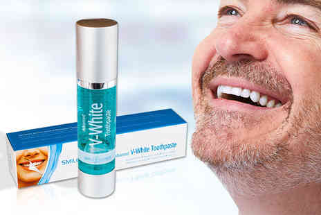 Face London - Smile Science Advanced V White toothpaste - Save 74%