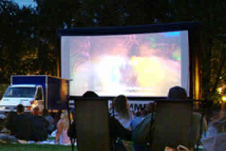 Pop Up Screens - Two Tickets to Outdoor Cinema Screening - Save 50%