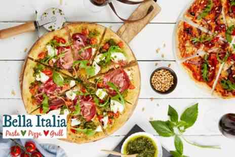 Bella Italia - Two Course Italian Meal for Two or Four - Save 59%