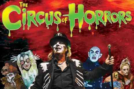 The Circus of Horrors - Ticket to Circus of Horrors Voodoo choose from Newcastle or Sheffield locations and make a spooky - Save 46%