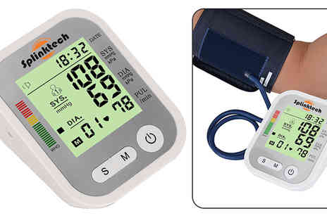 Plus Bee - Black Electronic Blood Pressure Monitor - Save 70%