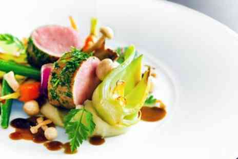 The Mere Golf Resort & Spa - 2 AA Rosette meal for 2 with bubbly - Save 56%