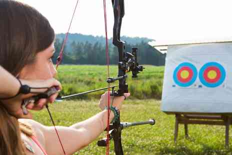 Blyth Activity Centre - One Hour Archery, Crossbow or Axe Throwing Experience for One or Two - Save 52%