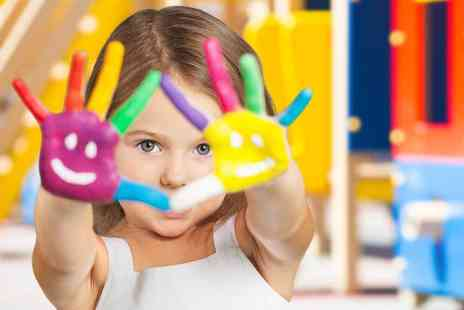 Vibrant Learners - Kids craft workshop for one child or two children - Save 71%