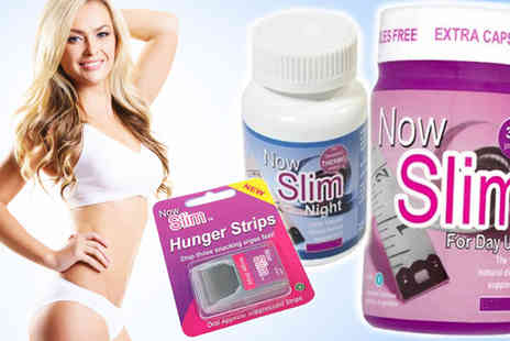 Now Slim - Three Day and Night Capsule Bundle With 24 Hunger Strips - Save 73%