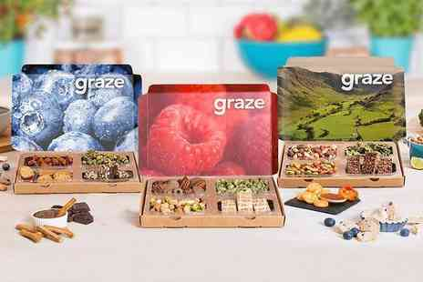 graze - Your first three Graze snack boxes - Save 67%