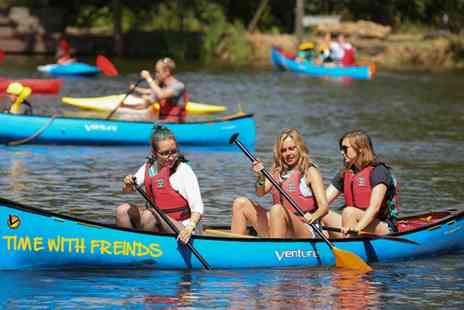 Active Nation - 90 Minutes of Kayaking or Canoeing for Two or Four - Save 50%