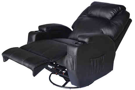 Mhstar - PU Leather Electric Massage Recliner Chair - Save 38%