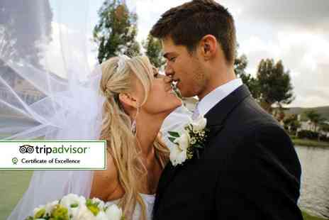 The Hilton Hotel - Complete wedding package including a three course meal, evening food and drinks reception - Save 0%