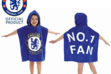 Chelsea FC - Hooded Poncho - Save 60%