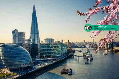 SuperBreak - Two night 4 Star London stay including breakfast, river cruise, return train tickets - Save 50%