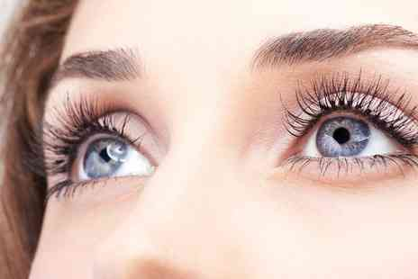 Hair and Beauty Treats - Individual or 3D Eyelash Extensions with Optional Eyebrow Wax and Tint - Save 40%