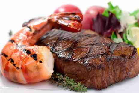 Po Boyz - Two Course Steak Meal for Two or Four - Save 43%