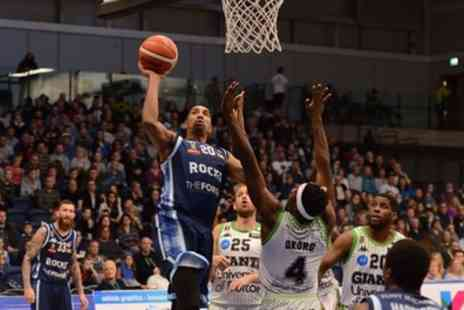 Glasgow Rocks Basketball - Two adults or one family ticket to see Glasgow Rocks play against Plymouth Raiders or Leicester Riders on 26 January and 23 March - Save 46%