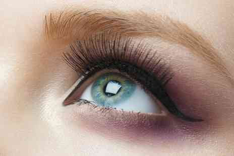 Shannons Beauty Studio - Semi Permanent Eyelash Extensions with Optional Eyebrow Tint - Save 47%