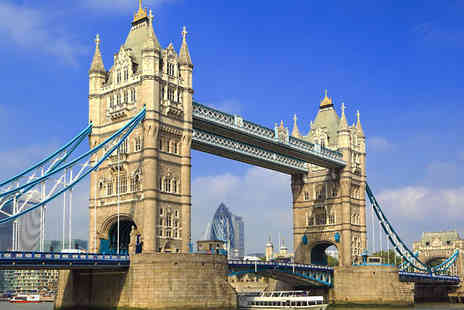 SuperBreak - One or Two Night Kensington Hotel Stay With Breakfast & Thames Jet Experience - Save 0%