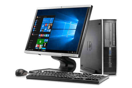 JMN Business Solutions - Grade B refurbished Hp DC7900 desktop Pc with keyboard and mouse - Save 68%