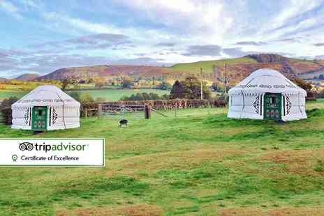 Barnutopia - Two night glamping stay for two - Save 32%