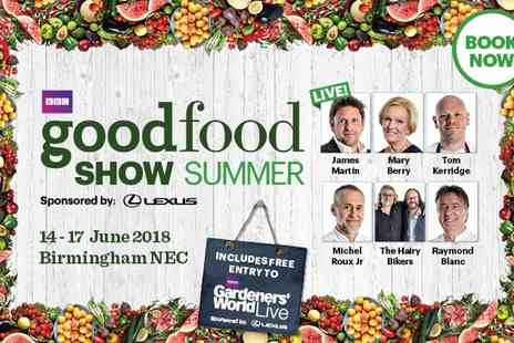 BBC Good Food Show - Ticket to BBC Good Food Show on 14 to 17 June - Save 0%