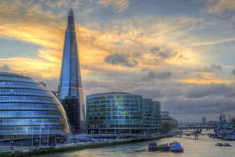 SuperBreak - One Night Hotel Stay With Breakfast Plus Thames Cruise - Save 0%
