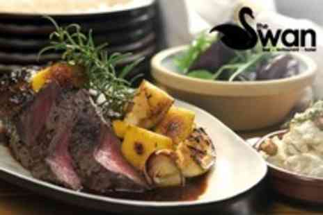 The Swan Hotel - Sunday Lunch With Drinks For Two - Save 55%