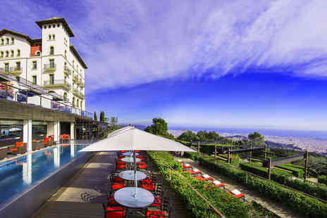 Gran Hotel La Florida - Five Star Amazing Views 500m Above the City For Two - Save 80%