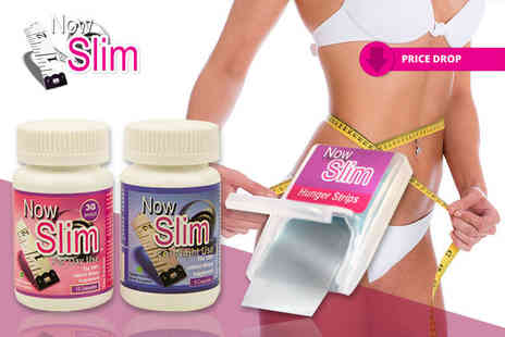 Now Slim - Three day and night capsule bundle and 24 Hunger Strips - Save 77%