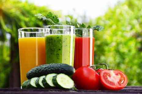 Juice Jungle - Three, five or seven day juice cleanse pack - Save 79%