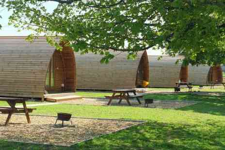 Wigwam Holidays Crowtree - Two or three night heated wigwam stay for up to four people and two dogs - Save 54%