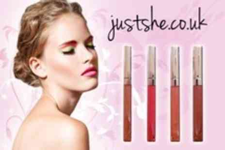 JustShe.co.uk - Four Maybelline Colour Sensational Lipgloss - Save 50%