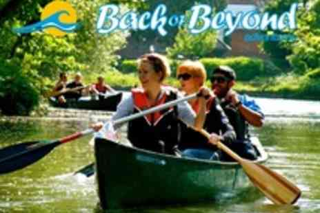 Back of Beyond Adventures - Canoeing Trips for 2 or Family of 4 - Save 68%