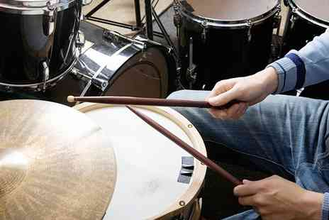 MM Drum School - Two, Four or Six 30 Minute Drum Lessons - Save 0%
