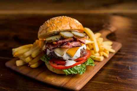 Hilton London Canary Wharf - Chefs Burger with Chunky Chips and Pint of Beer for Two - Save 47%