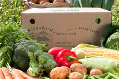 Riverford Organic Vegetables - Three Small Organic Veg Boxes with Delivery - Save 53%
