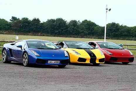 Experience Limits - Three, six or nine lap supercar experience - Save 74%
