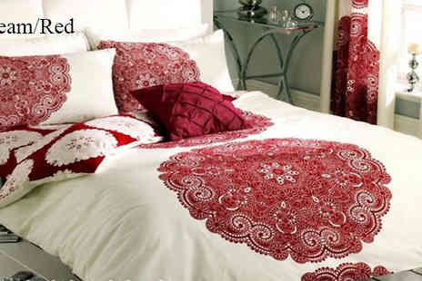 Luxury bed and warehouse - Printed Duvet Set in 5 Colours - Save 75%