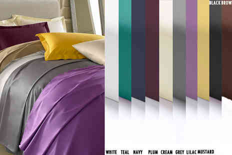 Exclusive Deals - Flat Single 100% Egyptian Cotton Bedsheet - Save 55%